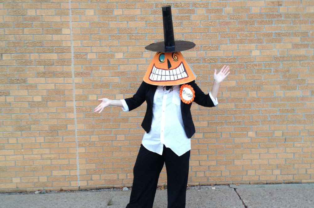 Mayor of Halloween Town Nightmare Before Christmas