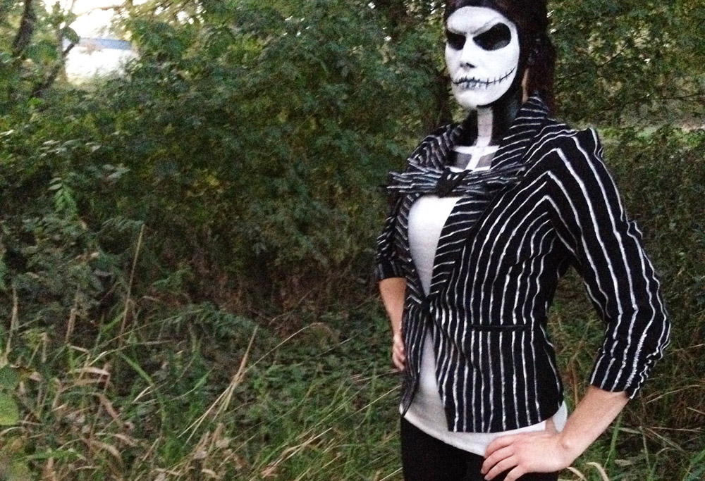 Jack Skellington costume Gender Bend