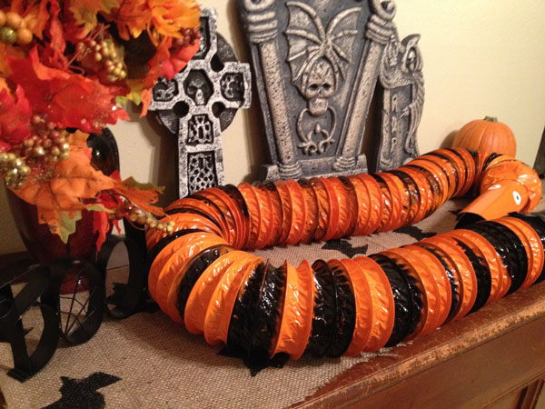 Nightmare before christmas snake garland mad like alyce you can use just as a decorative garland on a serving table like i did drape him over a doorway or if you have a christmas tree solutioingenieria Gallery