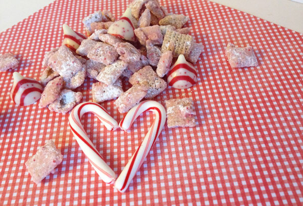 peppermint puppy chow 1