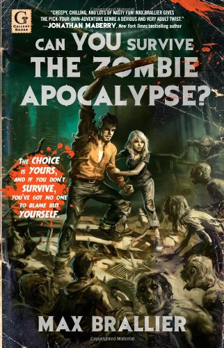 Can you survive the zombie apocalypse book cover