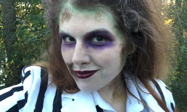 diy beetle-juice costume