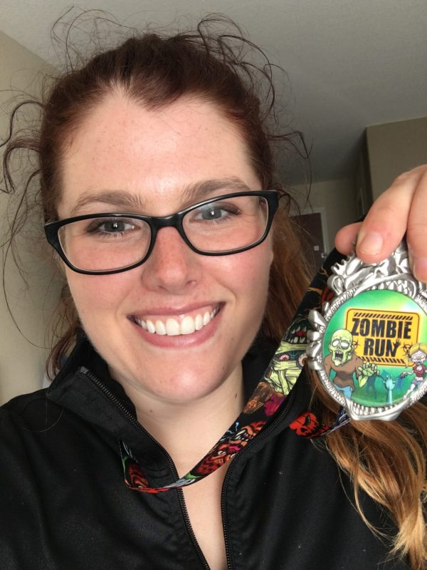 Deadwood Zombie 5K Survivor Medal