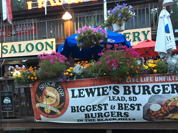 Lewies burgers in Lead SD