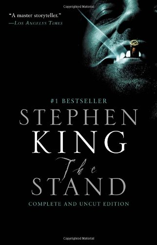 The Stand book cover by Stephen King