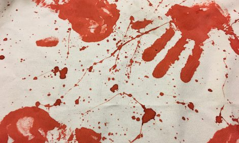 zombie-handprint-tablecloth