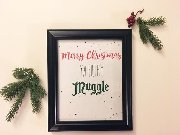 framed-merry-christmas-ya-filthy-muggle