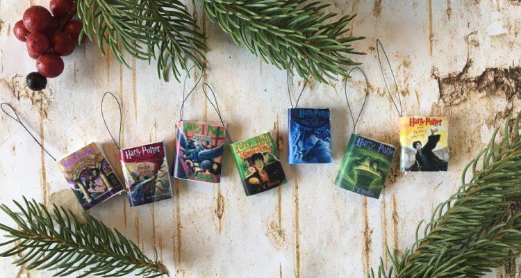 Harry Potter Books Ornaments