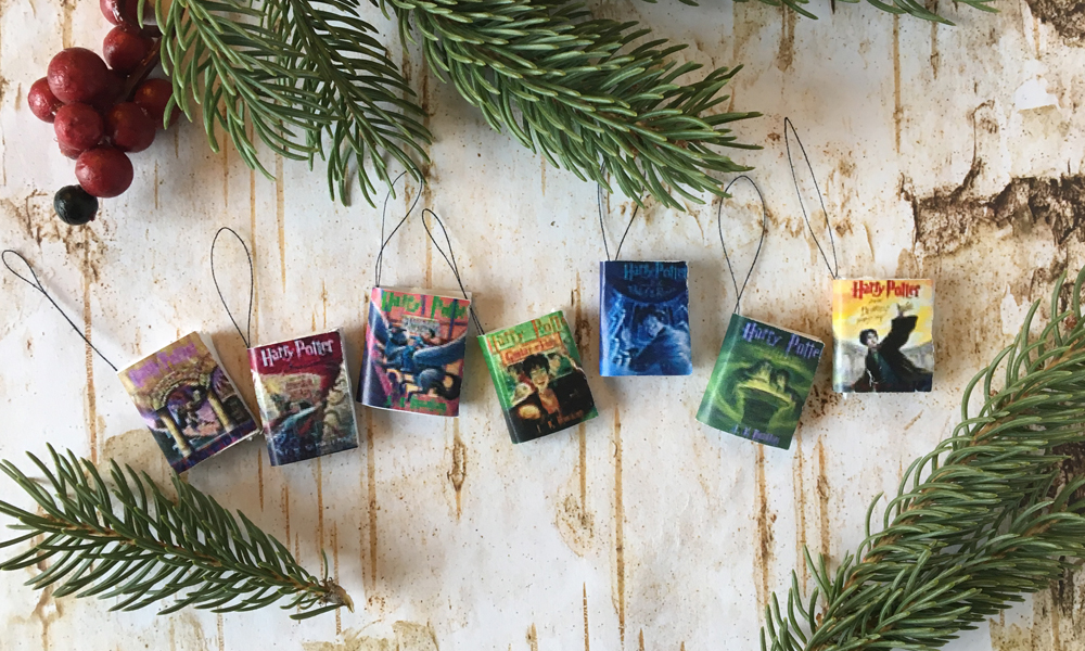 Harry Potter Books Ornaments