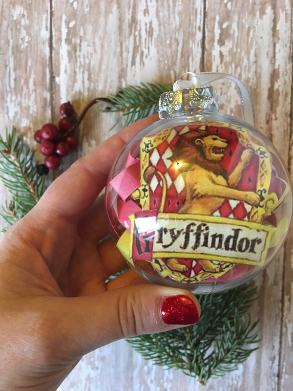 Harry Potter House Ornaments griffindor