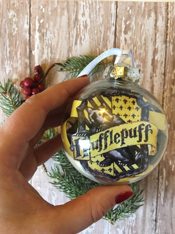 Harry Potter House Ornaments hufflepuff