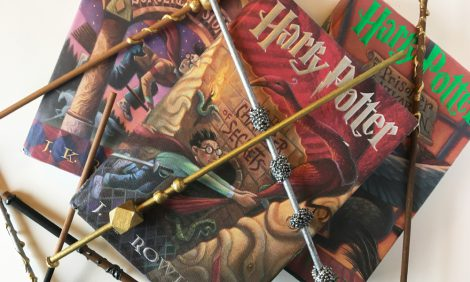 Harry Potter Wands DIY Tutorial