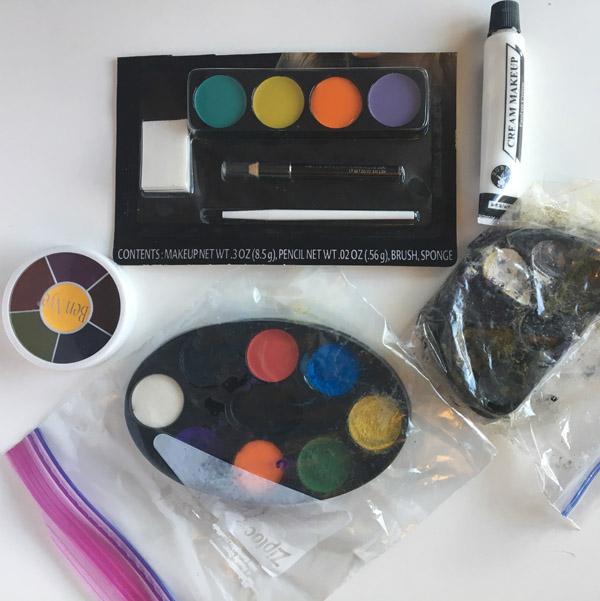 creme based face paints
