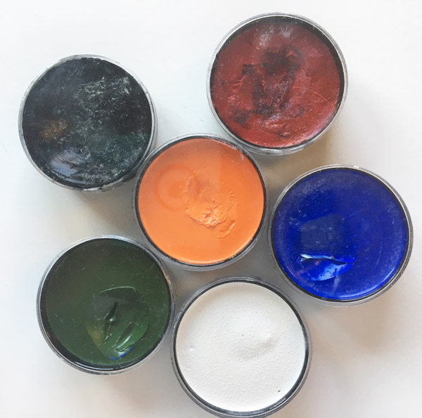 grease based face paints