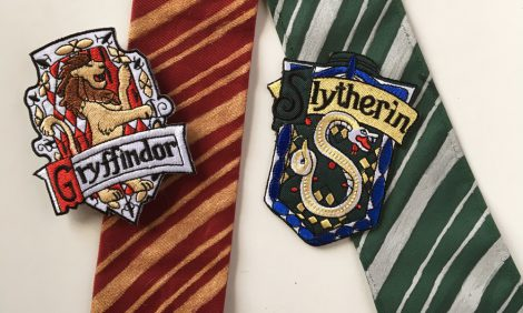 Harry Potter tie diy