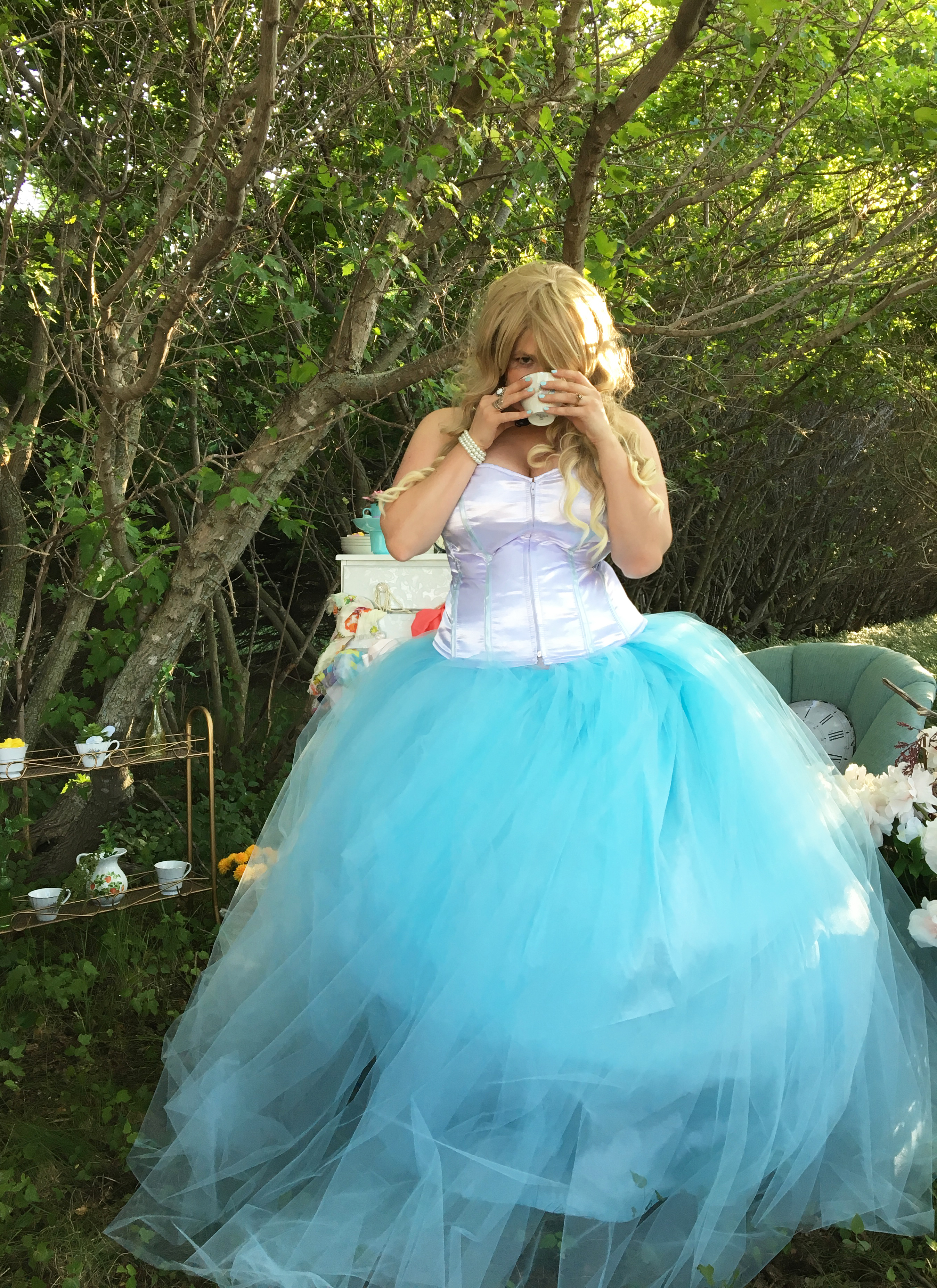 Alice in Wonderland Wedding Dress - Mad Like Alyce