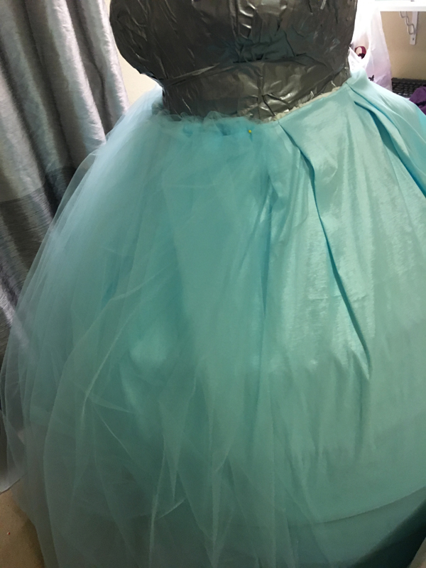 Alice in Wonderland Wedding Dress Tutorial 12