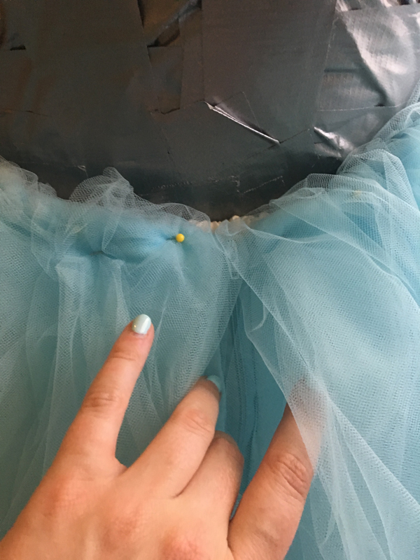 Alice in Wonderland Wedding Dress Tutorial 13