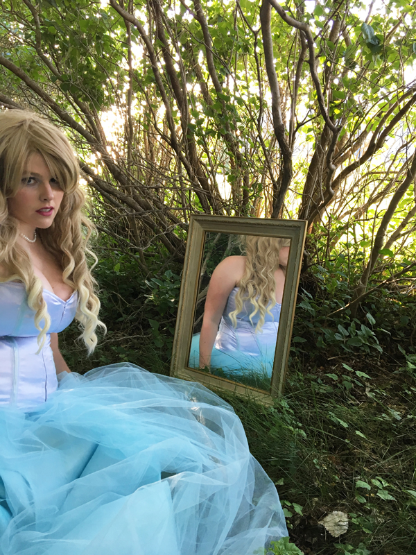 Alice in Wonderland Wedding mirror