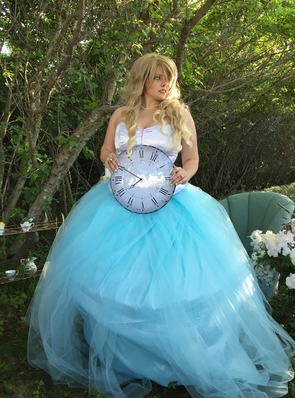 Alice wedding dress tutorial 2