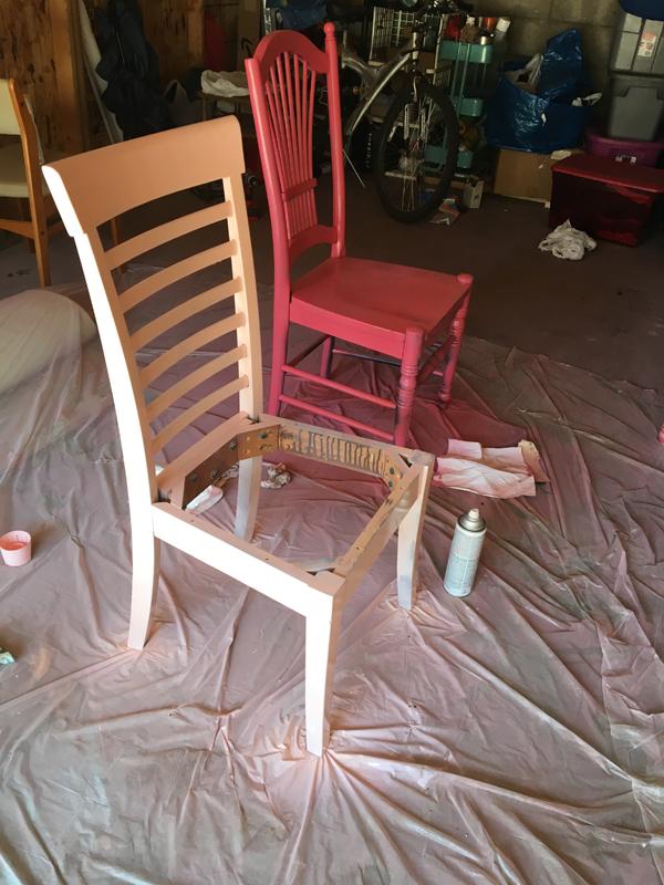 repainting chairs