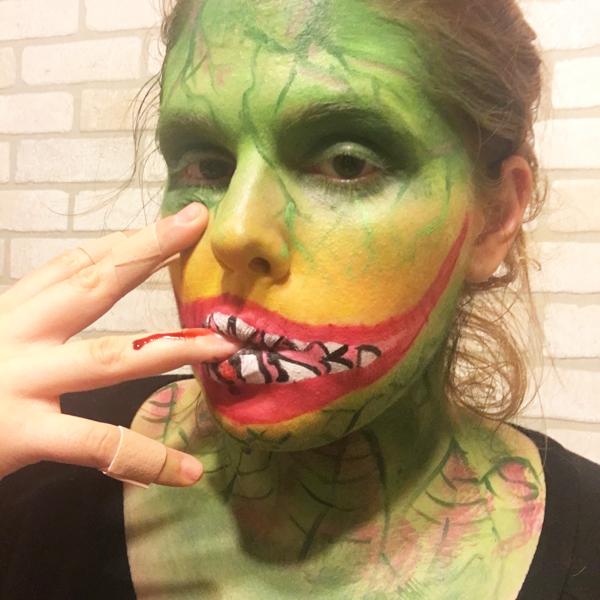 Audrey 2 SFX Makeup