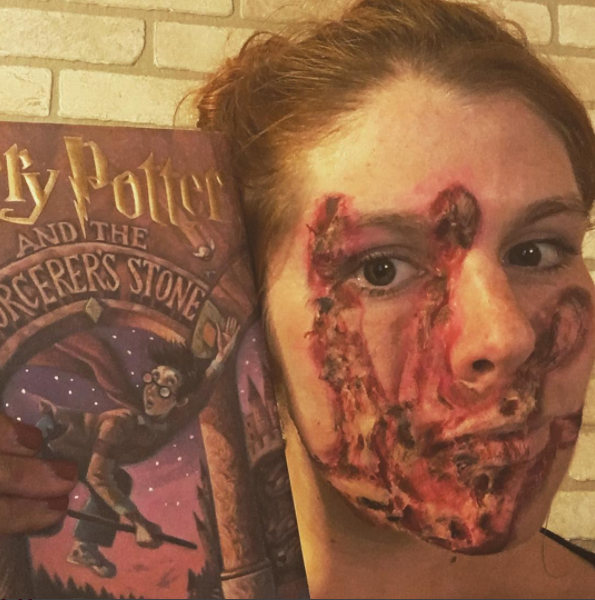 Harry Potter Burn Wound Makeup