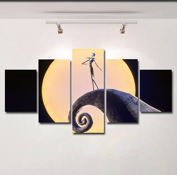 Jack Skellington Canvas