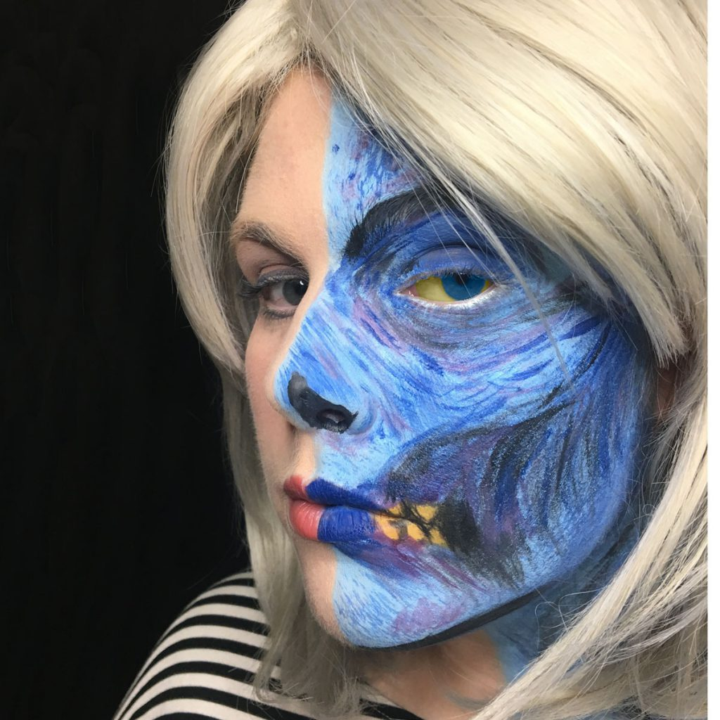 izombie Dead to the World cover art facepaint