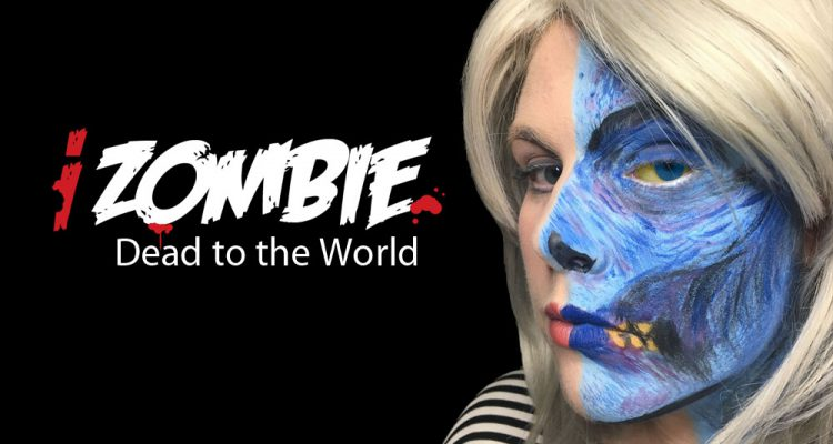 Izombie dead to the world makeup