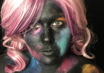 galaxy makeup feature